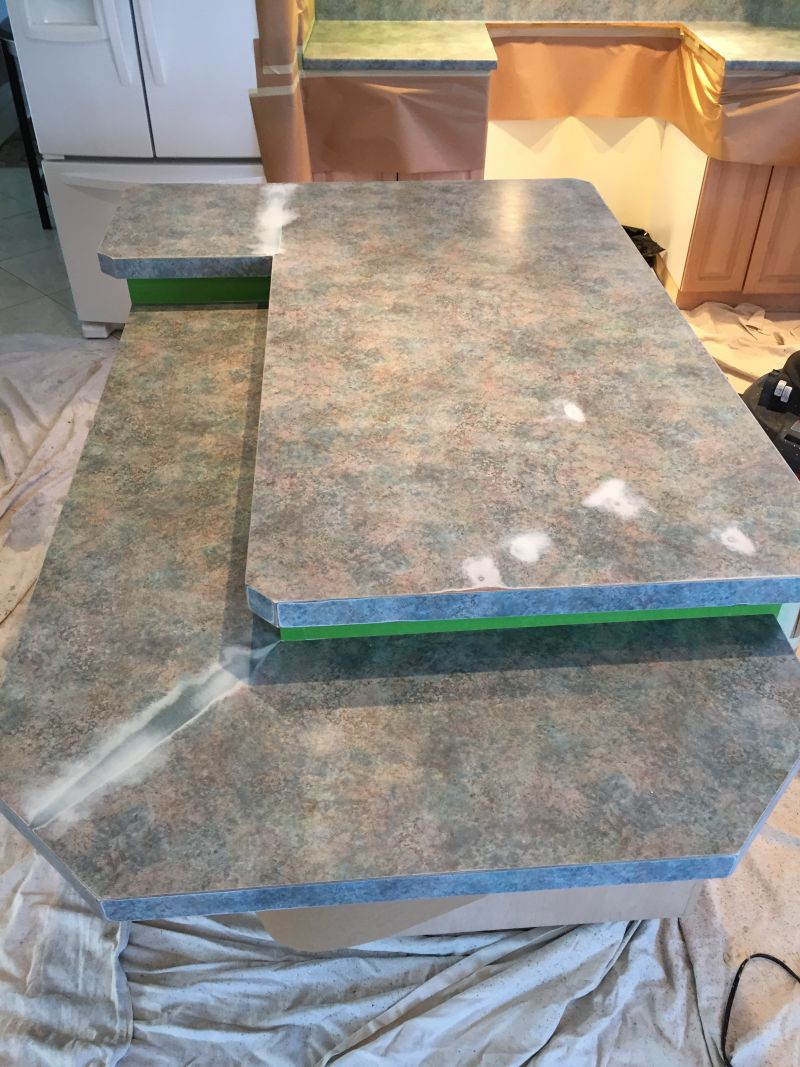 Before-Kitchen Counter Tops