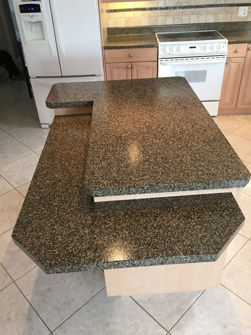 After-Kitchen Counter Tops